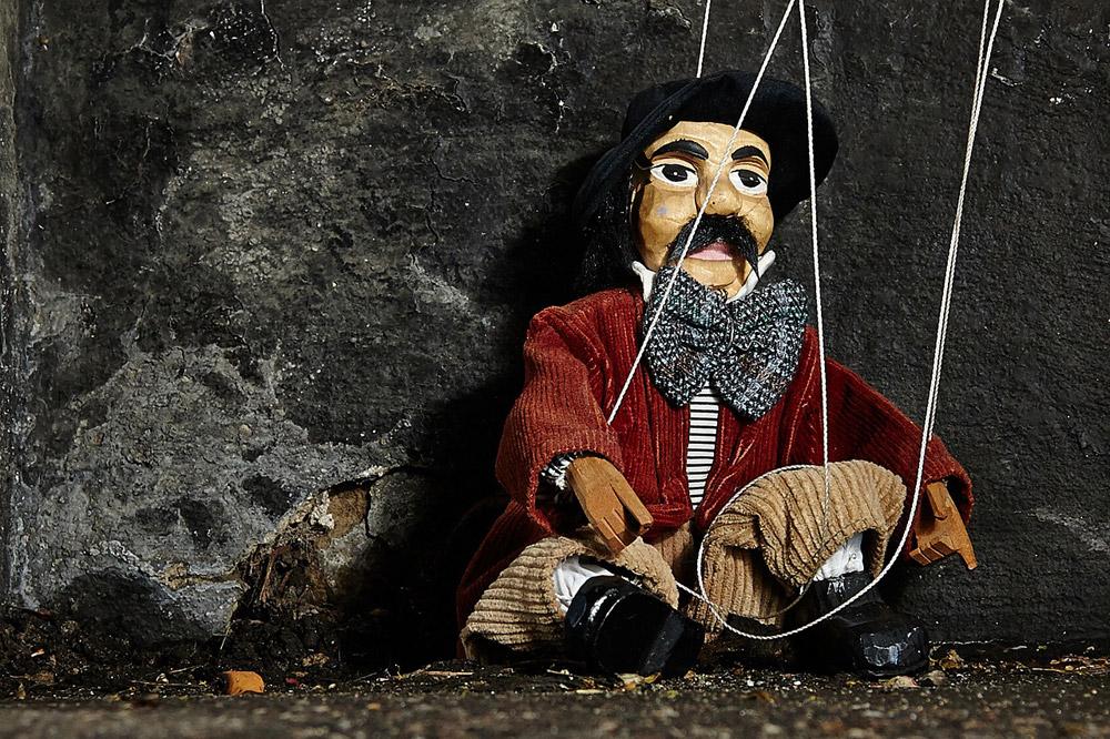Marionetas de hilo para los pequeños
