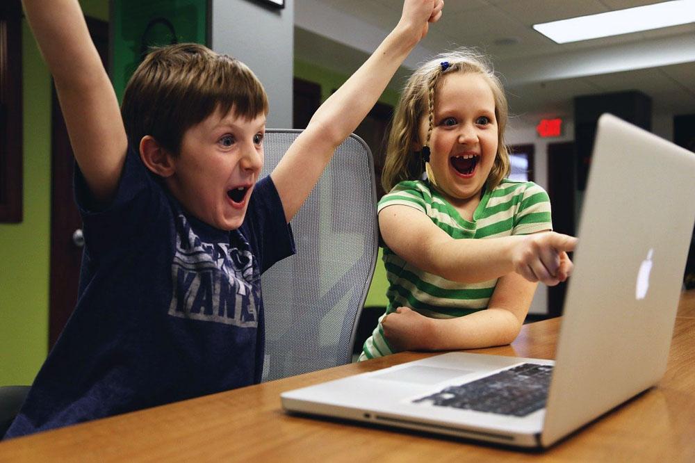 Niños en casa: ¡Aprendiendo en linea!